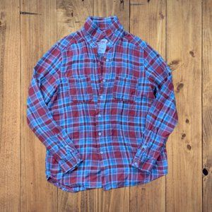 mossimo supply flannel button down shirt